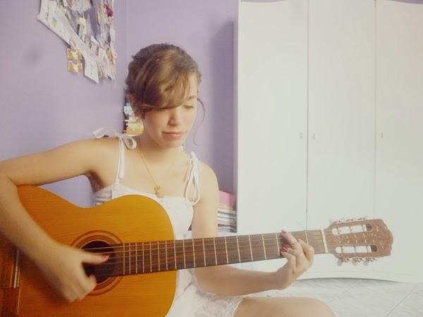 violão e meninas