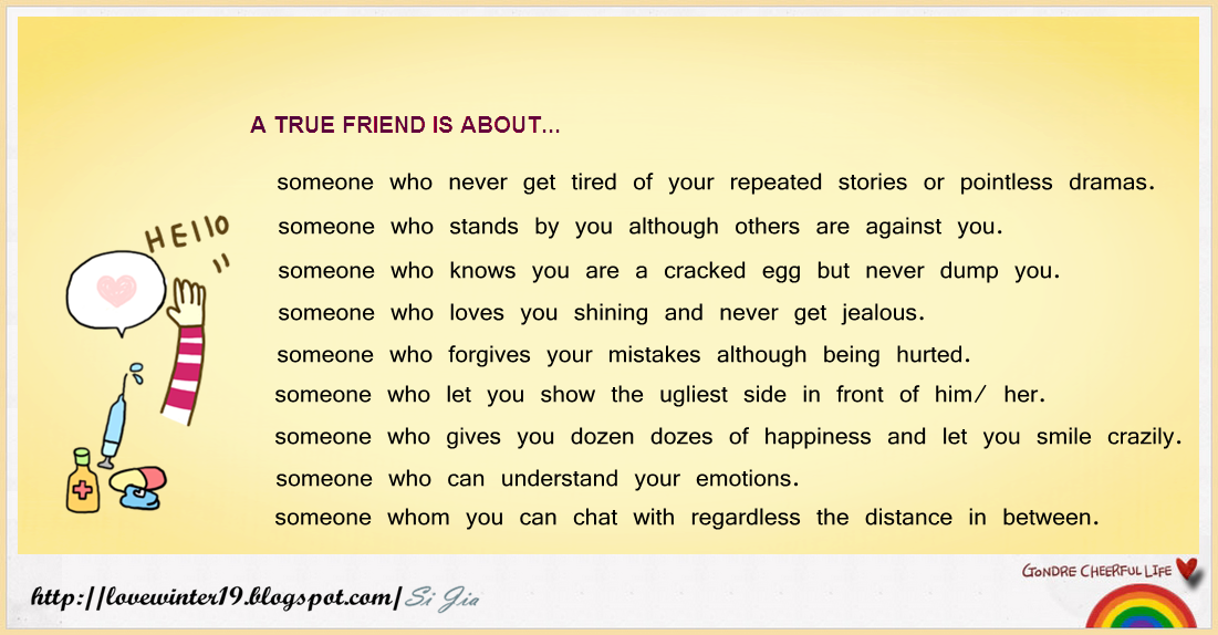 What Is a True Friend Quotes