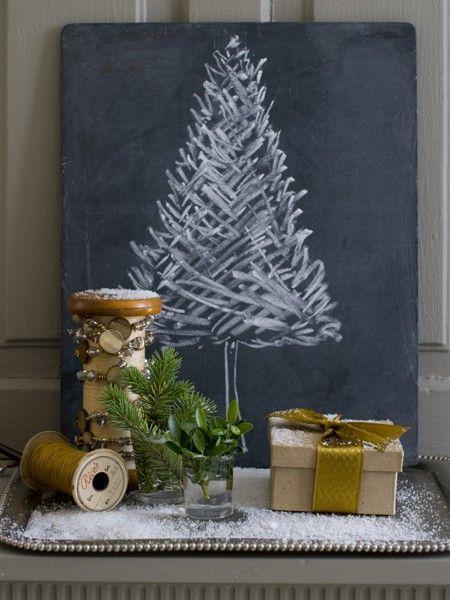 inspiração de decoração de natal para você fazer