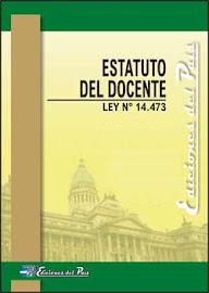 ESTATUTO DEL DOCENTE (NACIONAL)