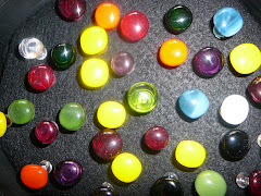 Fused Glass topped Push PIns