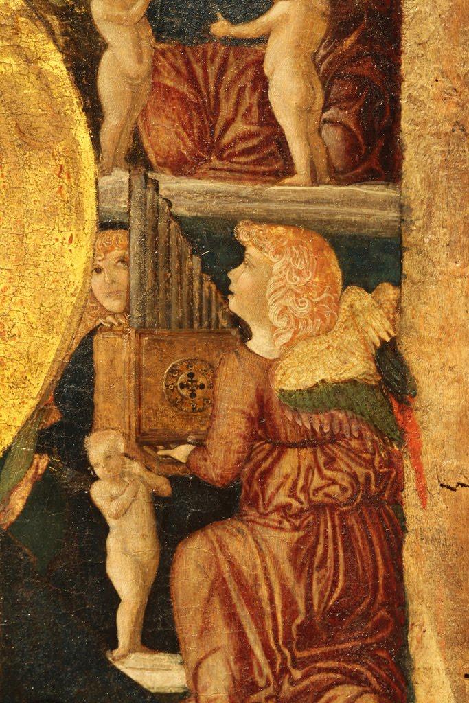 Gianfrancesco da Tolmezzo - Madonna con Bambino e angeli