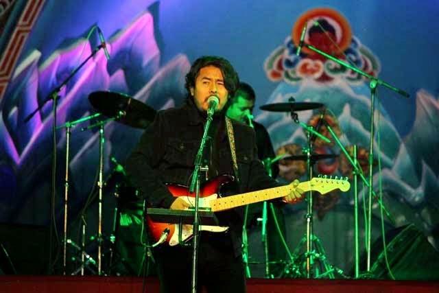 Adrian Pradhan in Darjeeling Winter Festival-2015