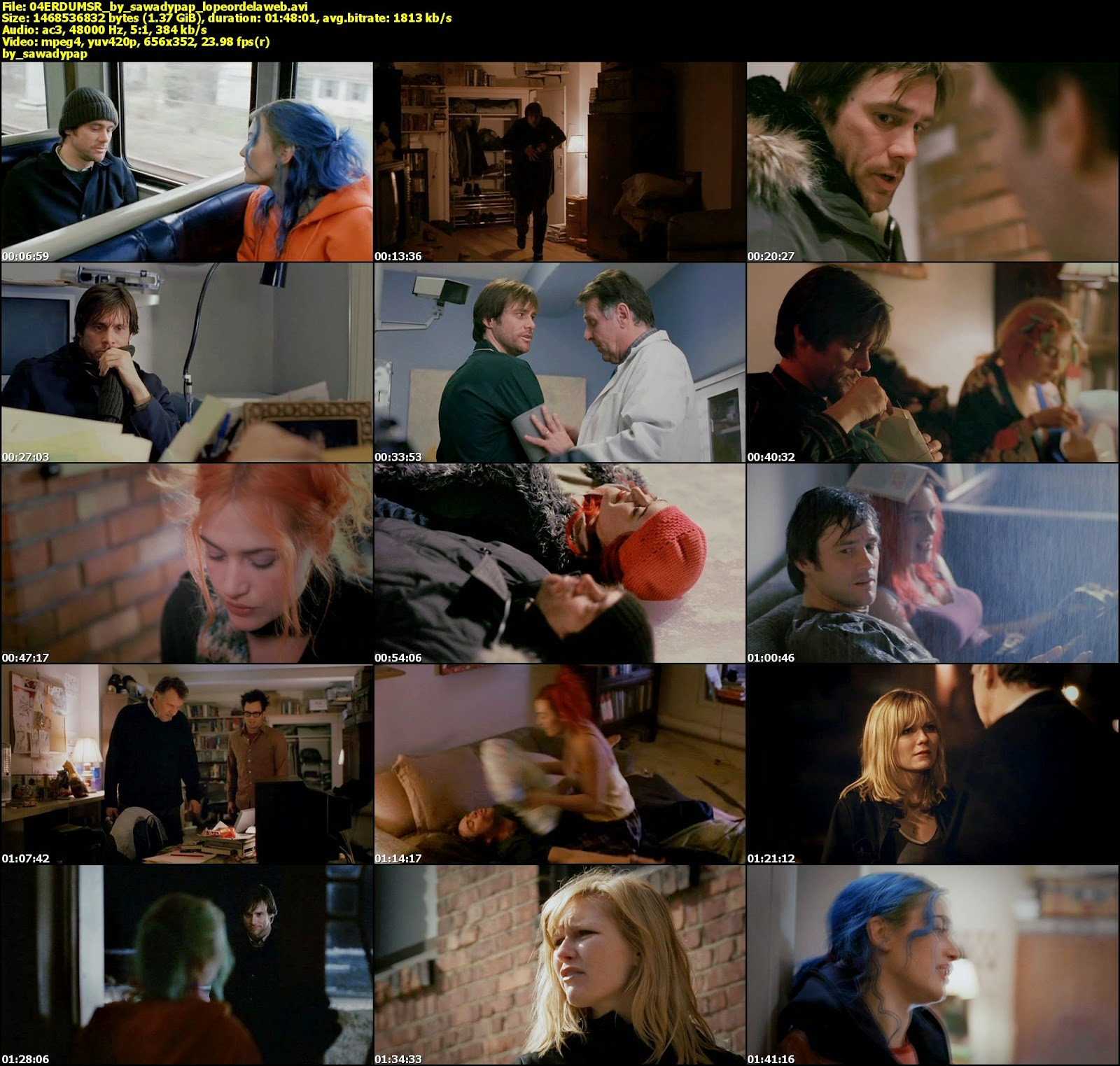Eternal Sunshine of the Spotless Mind [2004] [DVDRip] [Lat]