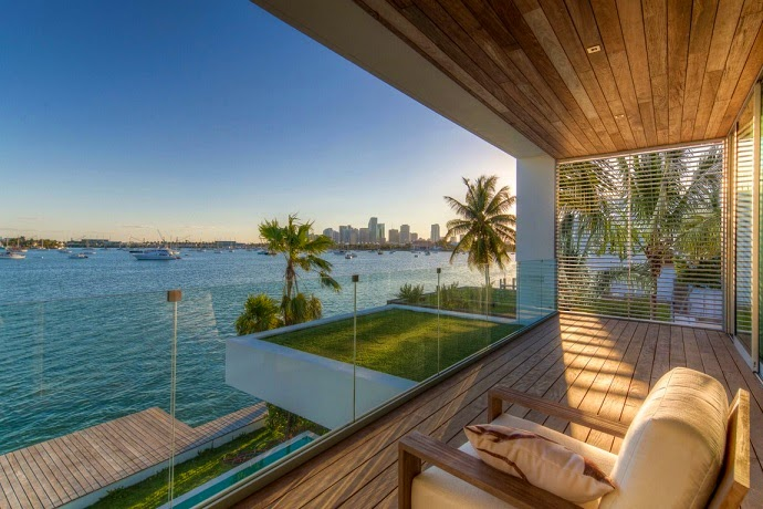 Casas De Decoracion En Miami ~ Casa contemporanea Peribere en Bah?a Vizca?na, Miami  ArQuitexs