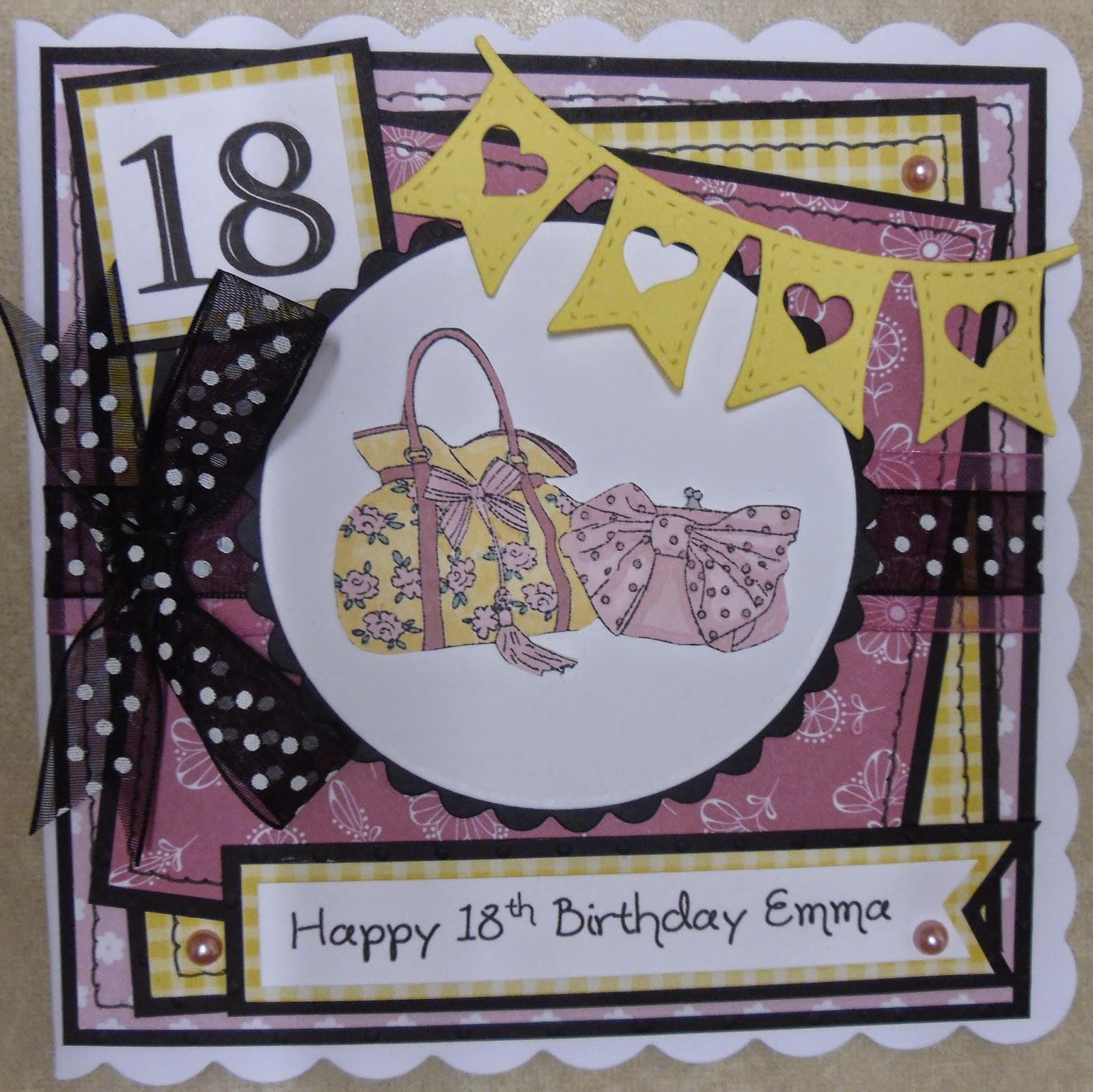 Handmade By Hamill: 18th Birthday Handbags