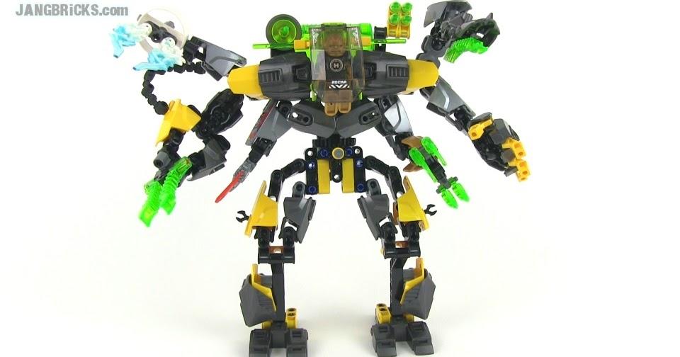 Lego Hero Factory Combination Instructions