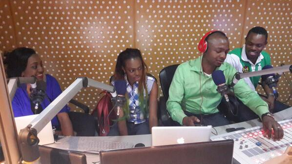 Bev and Melvin On Cool FM, Bev Replies Afrocandy.