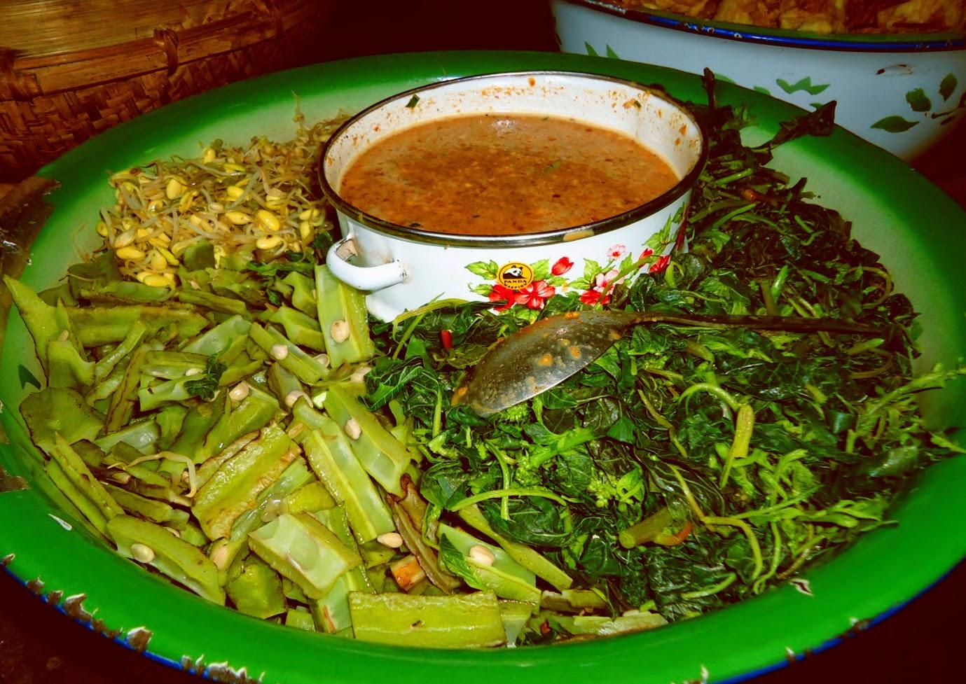 Revolusi Ilmiah - Makanan lokal nusantara