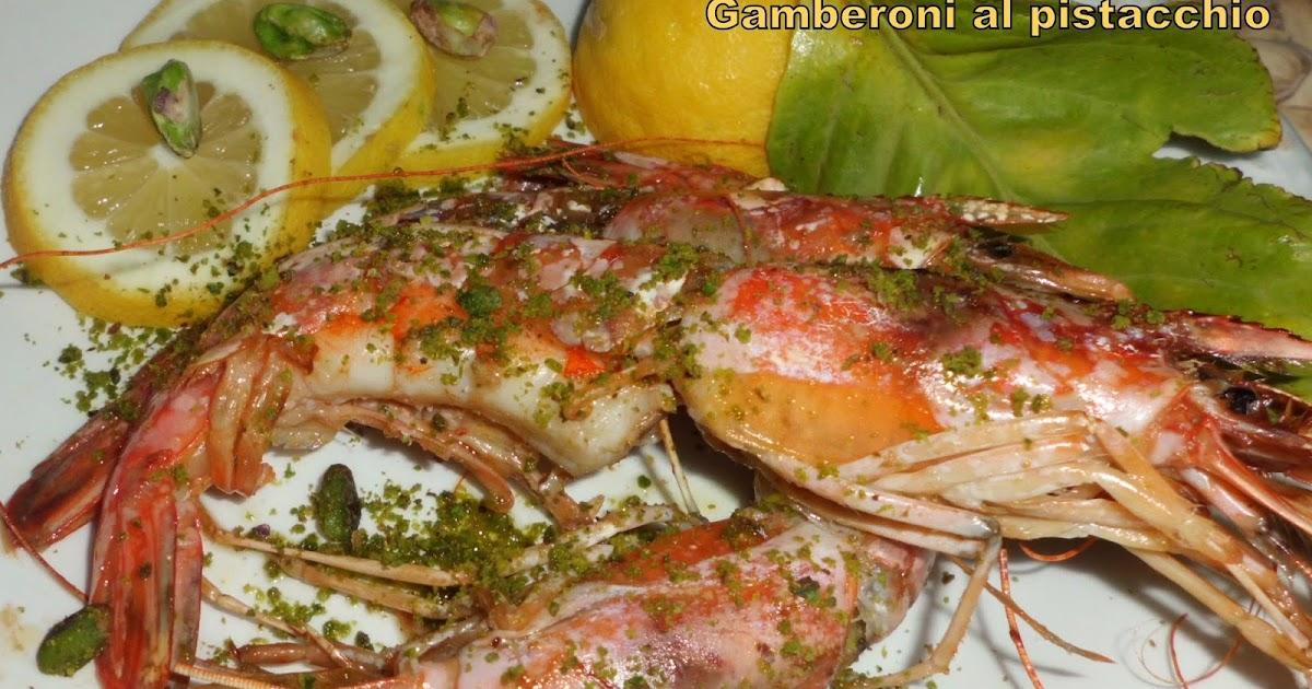 In Cucina Con Violetta: Gamberoni al pistacchio
