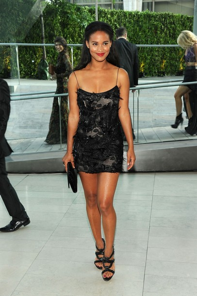 Actress Joy Bryant In Rachel Roy Joy Bryant In Rachel