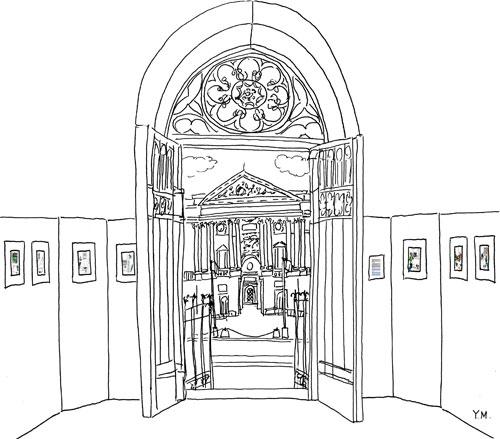 Beffroi du 1er arrondissement de Paris par Yukié Matsushita (intérieur)