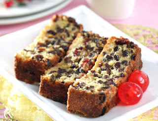 Healthy Snacks - White Fruit Cake