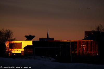 Haparanda Tornio Sunset Solnedgång