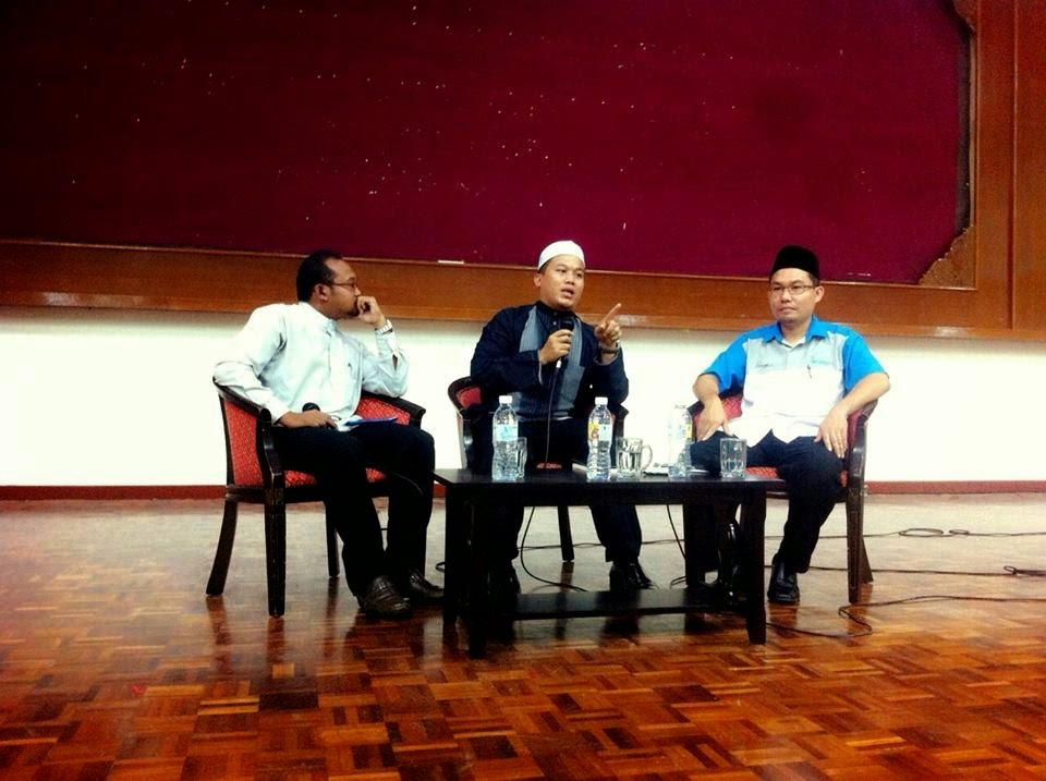 Tuan Azizul & Tuan Hasanuddin di Forum Bicara Ad Deen IKIM.fm