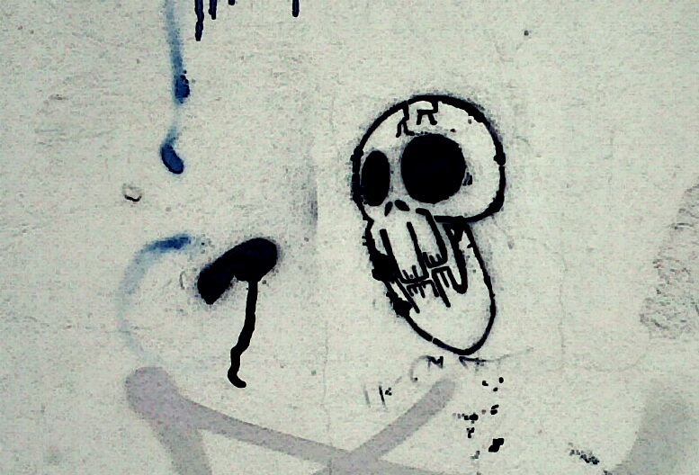 Skull visto en baires for Putas ciudad jardin