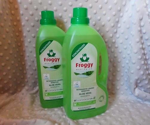 Froggy detergente concentrado sensitivo de Aloe Vera