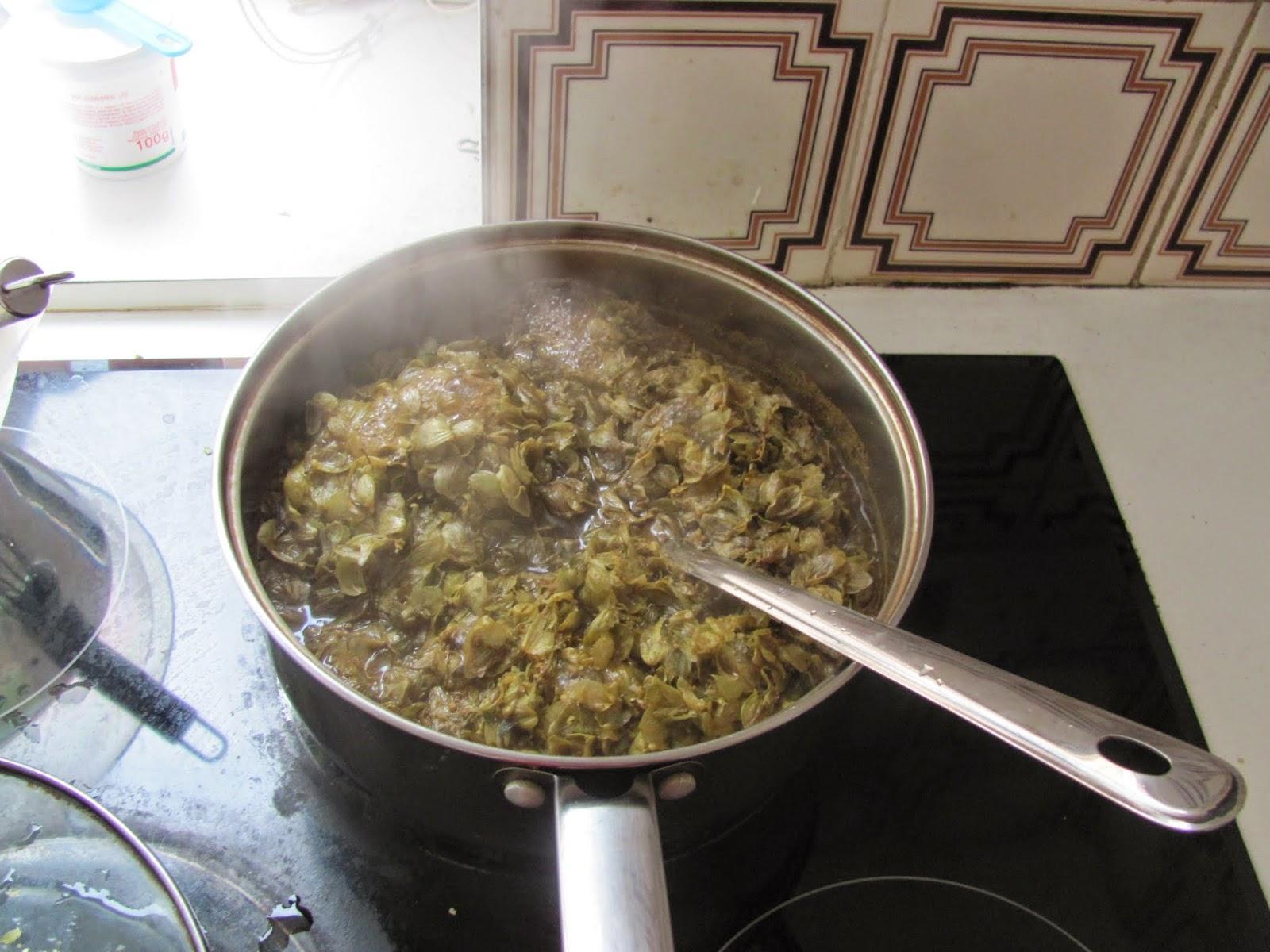 Boiling Hops