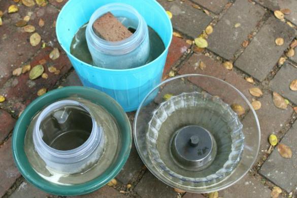 17 apart over on ehow diy cement flower pots - Maceteros de cemento ...