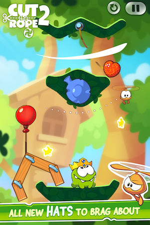 Download Game Cut The Rope 2 Unlimited Money