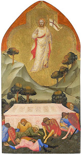 Iconography of the Resurrection – Hovering Over the Tomb