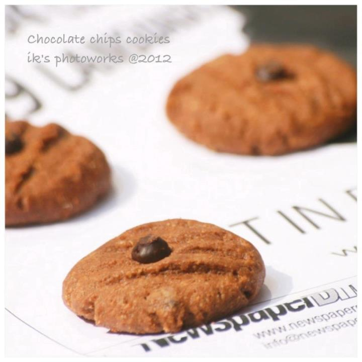 Chocolate Choco Chips Cookies