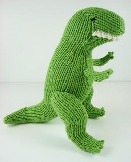 knit, dinosaur, t rex