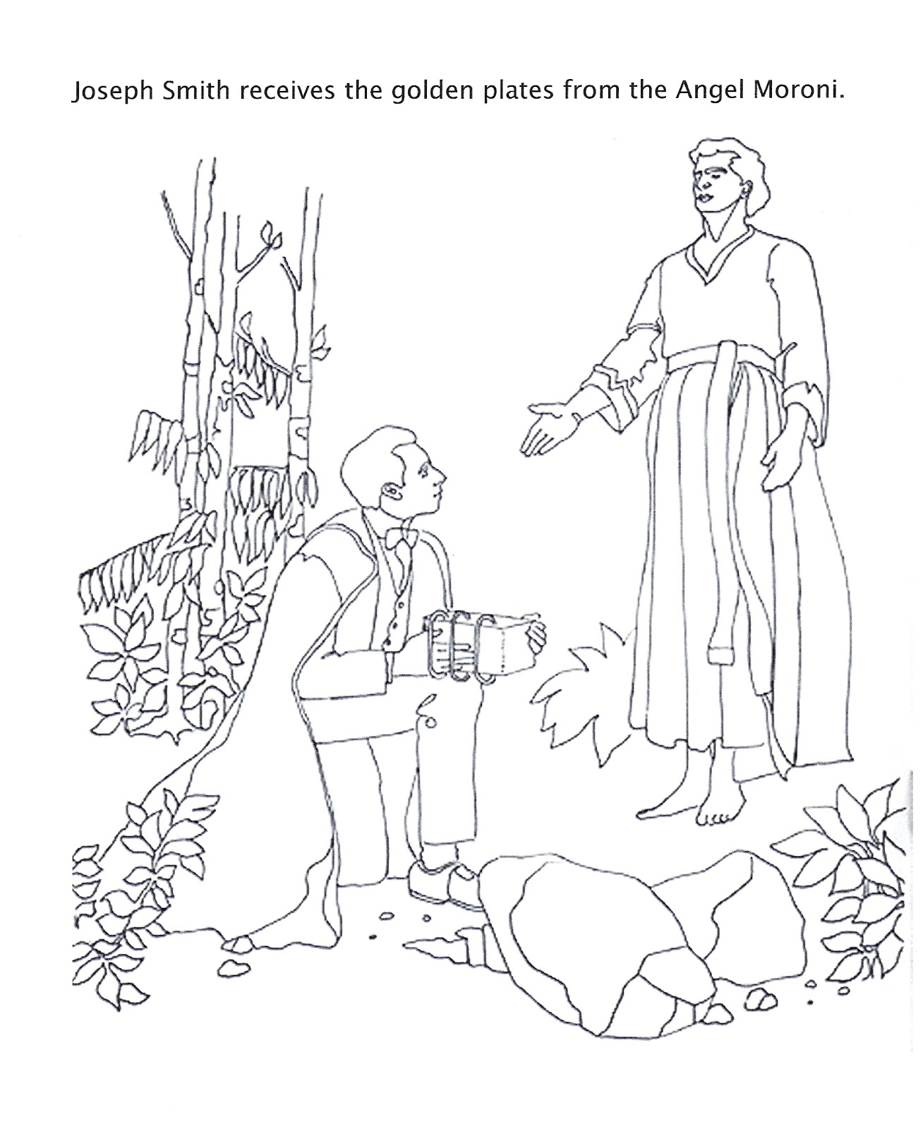 book of mormon coloring pages - photo#12