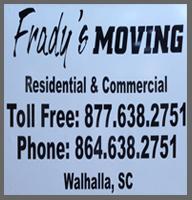 Frady's Moving:
