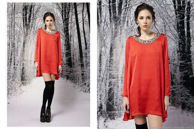 Penny Love invierno 2015 moda invierno 2015 ropa de fiesta.