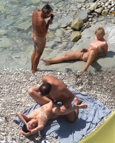 BeachHunters Sex 16491-16539 (Amateur Sex on a Nudist Beach)