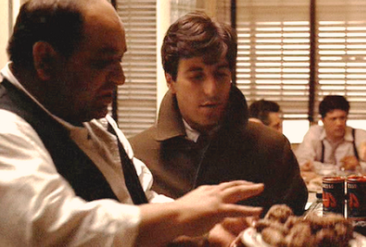 CLEMENZA TEACHES MICHAEL HOW to MAKE SUACE