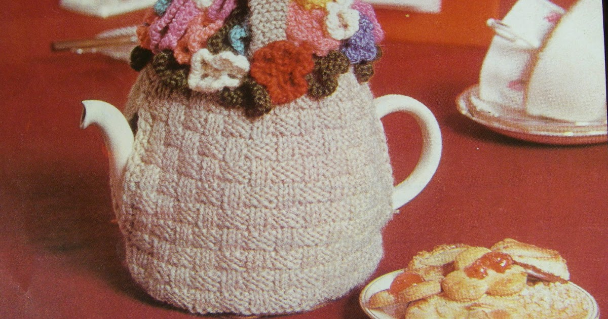 Knitting Pattern Of The Day : sidney: tea cosy of the day...