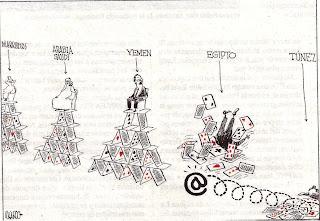 Genial editorial gráfico de Ricardo en El Mundo - 11-02-2001