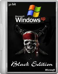 Windows XP Professional SP3 32-bit - Black Edition