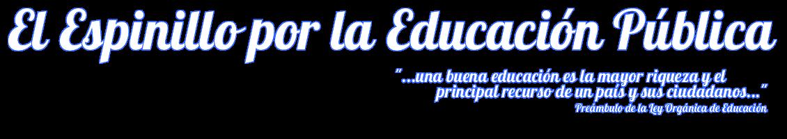 El Espinillo por la Educación Pública