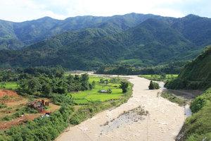 Landscape in Mường Tè