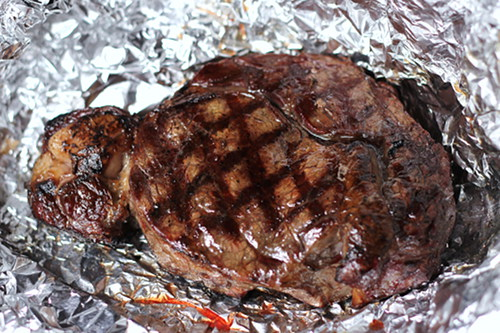 how to finish a steak in the oven