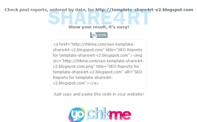 Share4rt Free SEO Template V2