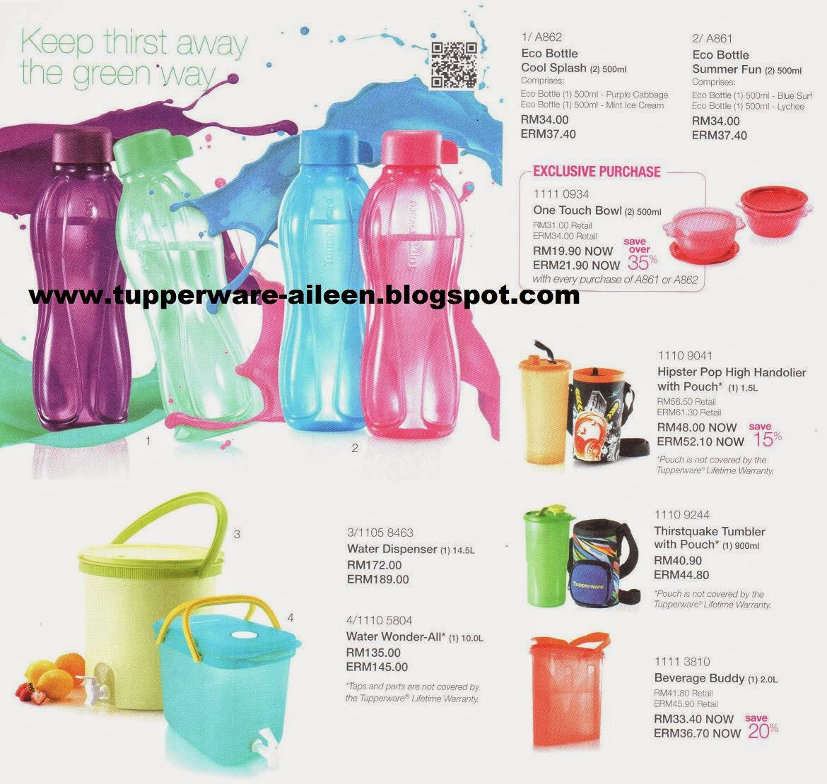 Tupperware Aileen May 2014 Gelas Plastik Tutup Tumbler Colorfull Has Opened Up An Exciting Colourful June Campaign Catalogue Effective 1 30 To Set The Momentum Towards This Happy