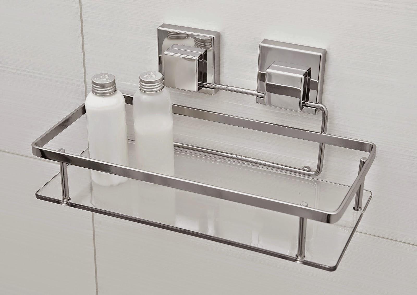 Babuchy Decor: Banheiros organizados sem furos #403734 1600x1130 Acessorios Banheiro Sucção