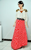 NM06:LOng Skirt DOT
