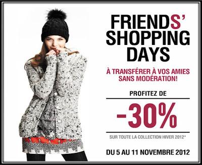 vente privée friends Kookai braderie Saint Denis novembre 2012