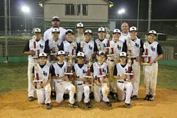 Tournament Champions - San Marcos 12U Sultans of Swat, May 2011