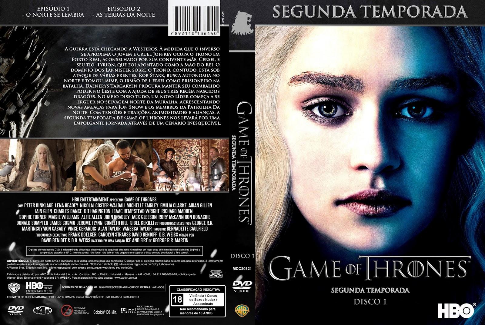 Resultado de imagem para Game of Thrones – 2ª Temporada