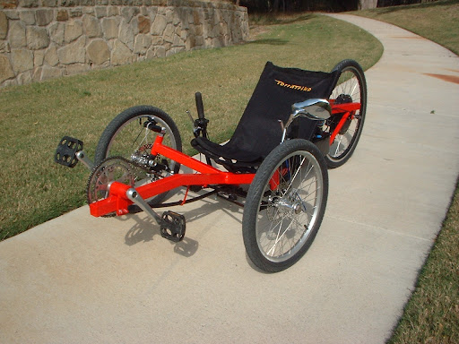 Tadpole Trike Man