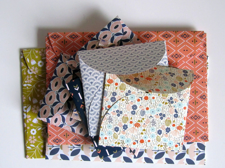 pile of folded envelopes