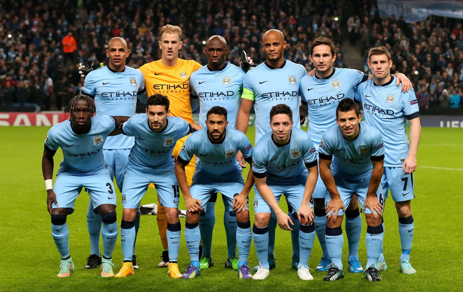 Manchester City Team Football Wallpaper