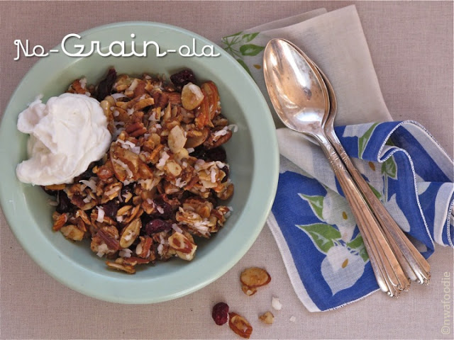 nwafoodie no-grain-ola no grain granola paleo granola