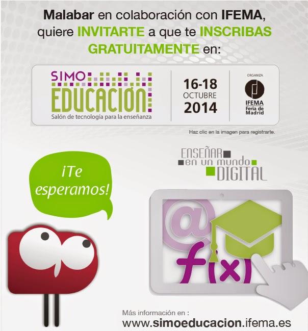 Malabar colabora con Simo Educacion Ifema